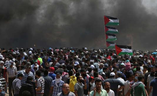 LIVEBLOG: manifestations palestiniennes contre le transfert de l'ambassade US