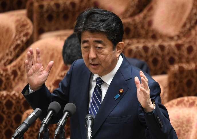 Le premier ministre japonais Shinzo Abe, le 14 mai.