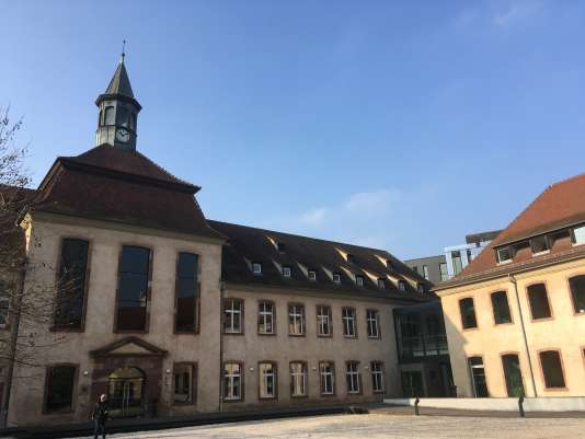 Le siège de l'ENA, à Strasbourg