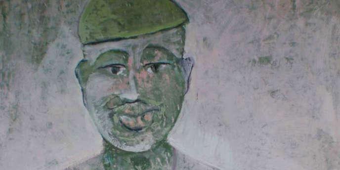 « Homme africain», œuvre de l'artiste Lamine Tamba.