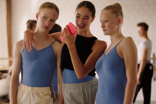 Victor Polster (à gauche) dans« Girl», de Lukas Dhont.