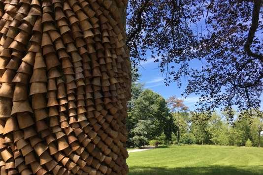 « Est-ce que si un arbre peignait...», de la Brésilienne Nathalie Nery (2018).