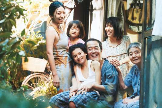Une scène du film japonais d'Hirokasu Kore-eda,« Une affaire de famille» («Manbiki kazoku»).
