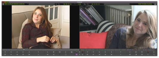 Clothilde filmée à quelques années d'intervalle par Julie Gavras dans« Les Bonnes Conditions».