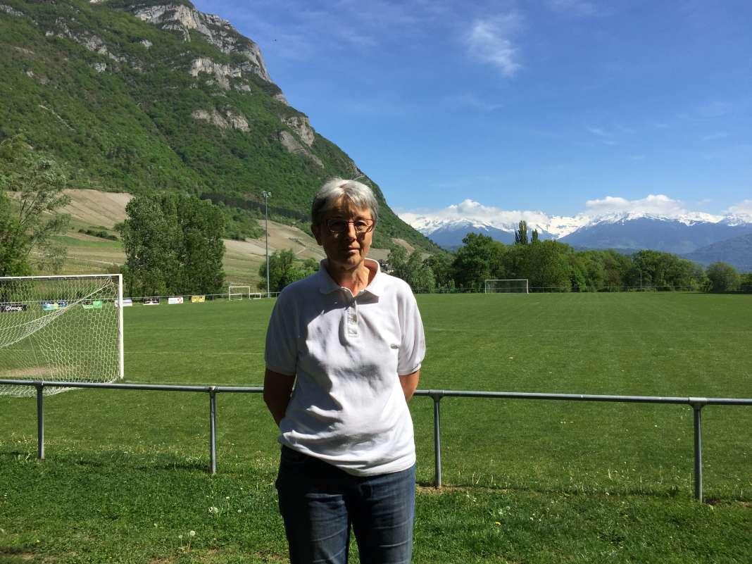 Monique Bauer chapeaute avec le Secours catholique l'équipe de bénévoles qui vient en aide aux demandeurs d'asiles du centre.