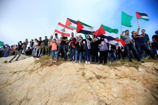 Près de la forteresse de Beaufort, dans le sud du Liban, le 15 mai.