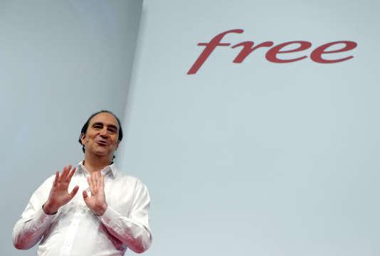 Xavier Niel, fondateur de Free, en 2015, à Paris.