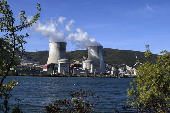 Centrale nucléaire de Cruas, sur les bords du Rhône, le 10 octobre 2017.