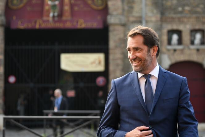 Christophe Castaner, seul représentant de la majorité sur le plateau, avait d'abord décliné l'invitation au profit de la porte-parole de La République en marche, Laetitia Avia.