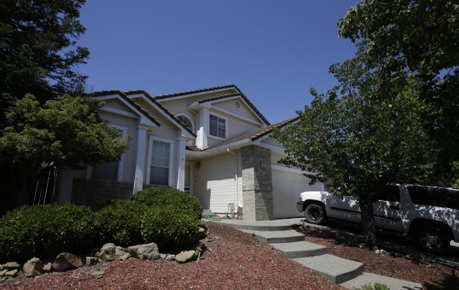 La maison d'Ina Rogers et son mari, Jonathan Allen, à Fairfield, lundi 14 mai.