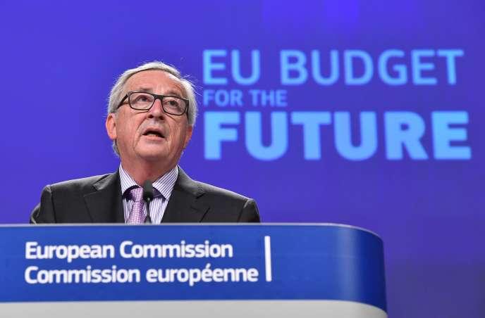 Le président de la Commission européenne, Jean-Claude Juncker, à Bruxelles, le 2 mai.