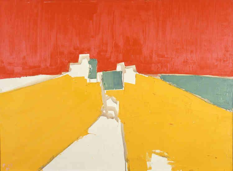 «Ici, l'intensité lumineuse atteint son paroxysme avec la plus grande simplicité des moyens d'expression. Le blanc de la toile fait, désormais, partie de la palette du peintre.»