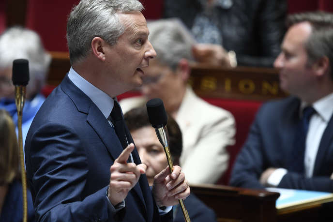 Bruno Le Maire le 15mai.