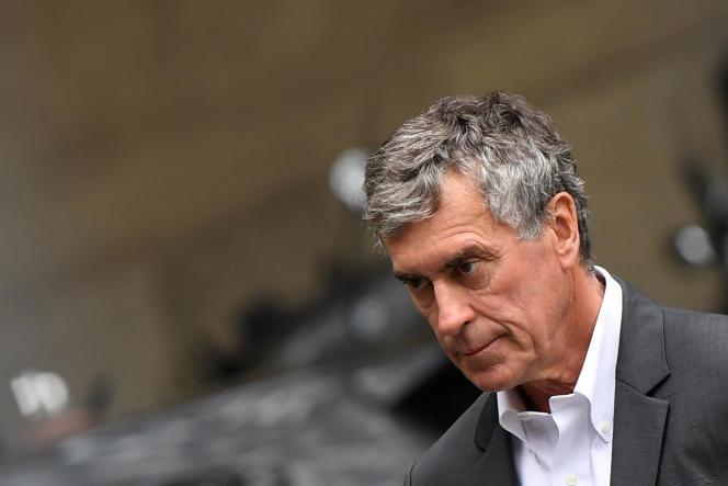 L'ancien ministre du budget, Jérôme Cahuzac, arrive au Palais de justice de Paris, le 15 mai.