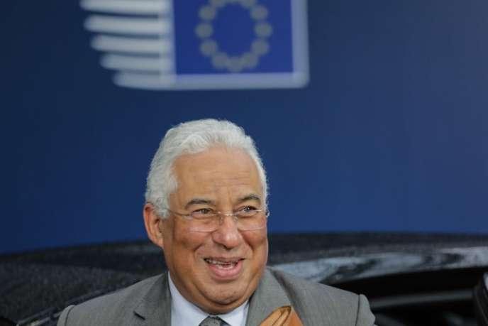 Antonio Costa, premier ministre portugais, le 22 mars.