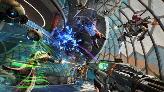 Avec«LawBreakers» et ses fusillades en apesanteur partielle, CliffyB. tente de retrouver les sensations ludiques de ses premiers jeux de tir dans l'espace.