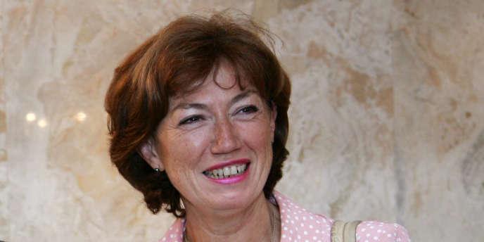 Anne-Marie Couderc, ancienne ministre déléguée à l'emploi, le 13 septembre 2006 à Paris.