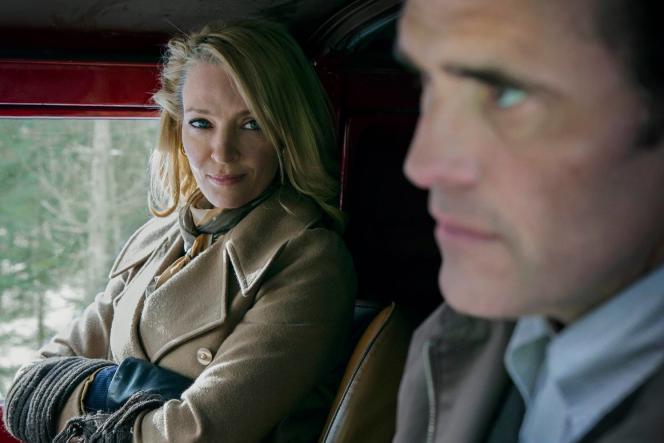 Uma Thurman et Matt Dillon dans «The House that Jack Built», de Lars von Trier, présenté hors compétition au 71e Festival de Cannes.