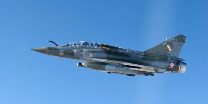 Un Mirage 2000-D de l'armée française.