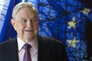 George Soros à Bruxelles, le 27 avril 2017.