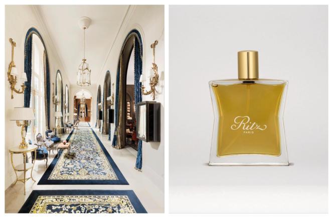 Le parfum d'ambiance du Ritz.