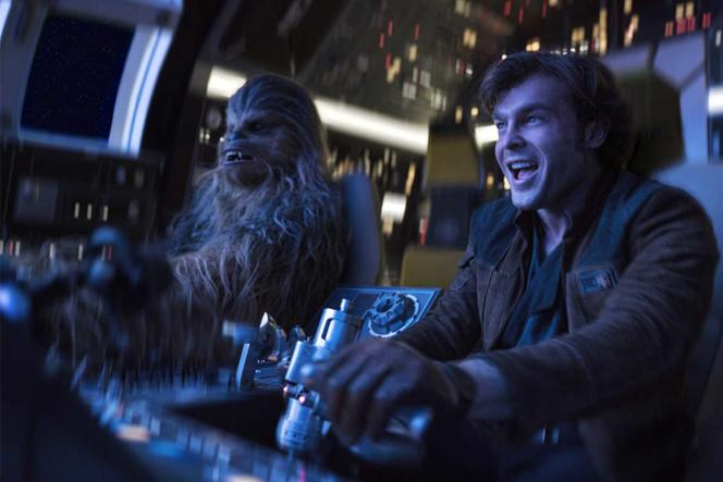 «Solo, A Star Wars Story», film américain de Ron Howard, présenté hors compétition au 71e Festival de Cannes.