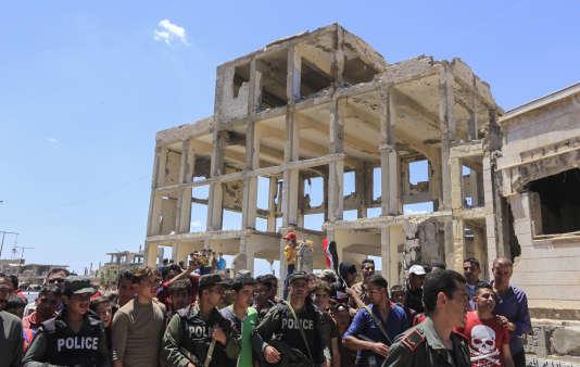 La fin des évacuations marque la reprise définitive de la province de Homs par le régime de Bachar Al-Assad