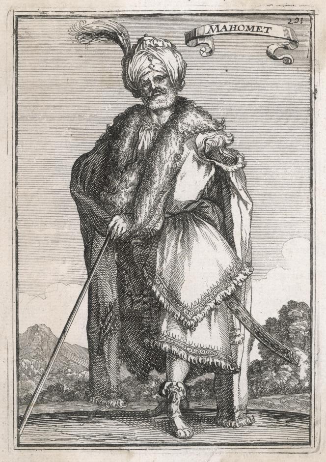 Une représentation de Mahomet issue de« Description de l'univers», d'Allain Manesson-Mallet, édité à Paris en 1683.