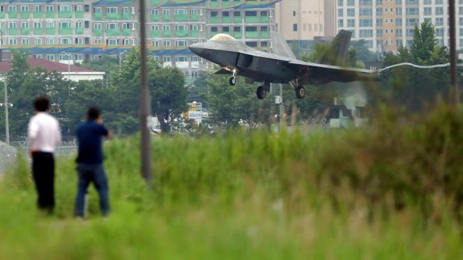 Le régime communiste a annulé une rencontre de haut niveau avec la Corée du Sud pour protester contre les manœuvres aériennes annuelles baptisée «Max Thunder».
