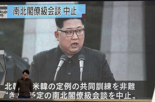 Le président de la Corée du Nord, Kim Jong-un, le 16 mai.