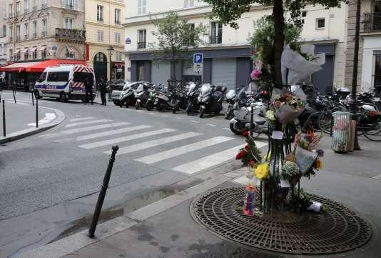 Ronon Gosnet a été victime de l'attaque au couteau perpétré parKhamzat Azimov samedi 12 mai à Paris.