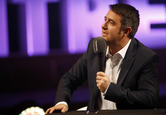 Laurent Guimier, en août 2016, à Paris.