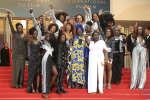 A Cannes, des actrices dénoncent la sous-représentation des femmes noires à l'écran, le 16 mai 2018.