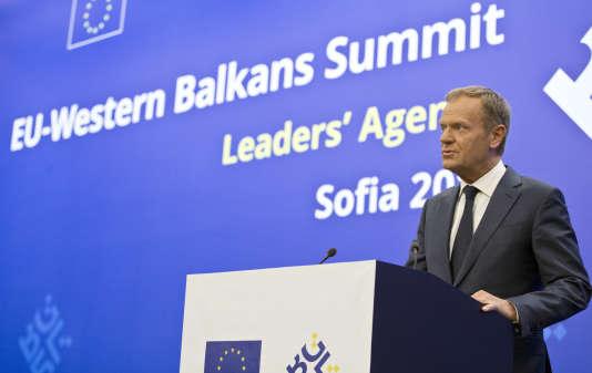 « L'Europe devrait être reconnaissante envers le président Trump car, grâce à lui, toutes nos illusions ont disparu », a déclaré, mercredi 16 mai, le président du Conseil européen, Donald Tusk.
