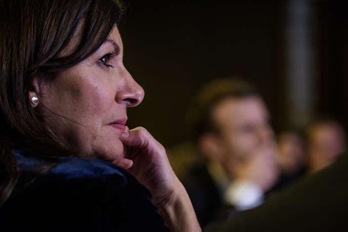 La maire de Paris, Anne Hidalgo, en janvier 2018, à Paris.