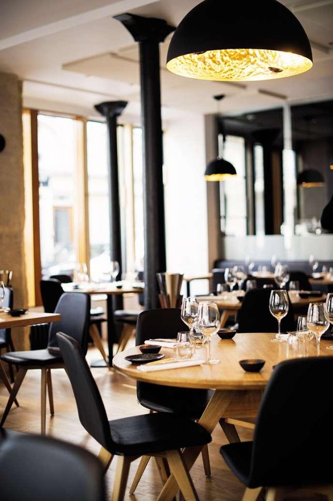 Le restaurant Baieta, près de Notre-Dame dans le 5e arrondissement de Paris.