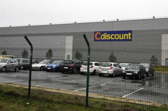 Un entrepôt de Cdiscount à Cestas, en Gironde, en 2012.