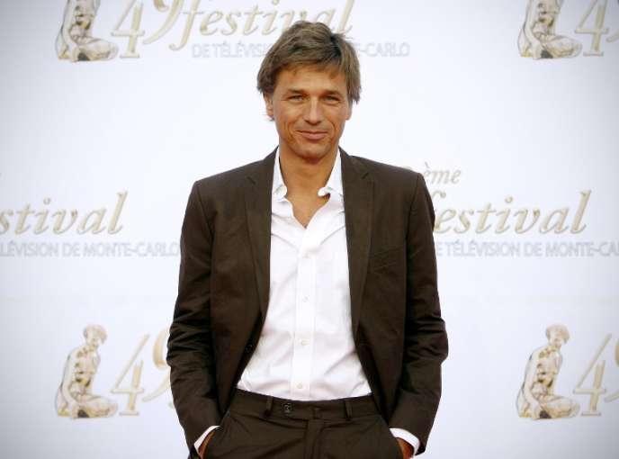 Guy Lagache, le 7 juin 2009, au festival de télévision de Monte Carlo.