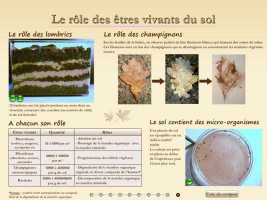 Le site pédagogique de l'Académie de Toulouse propose des ressources pour analyser les sols.