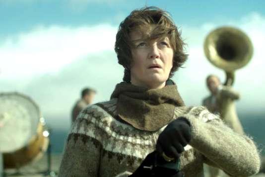 Halldora Geirhardsdottir dans « Woman at War », de Benedikt Erlingsson.
