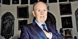 Henri Joyeux dans la salle des Actes de l'université de médecine de Montpellier (Hérault), en février.