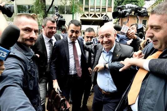 Que sont laLigue et le Mouvement 5étoiles, qui s'apprêtent à gouverner l'Italie?