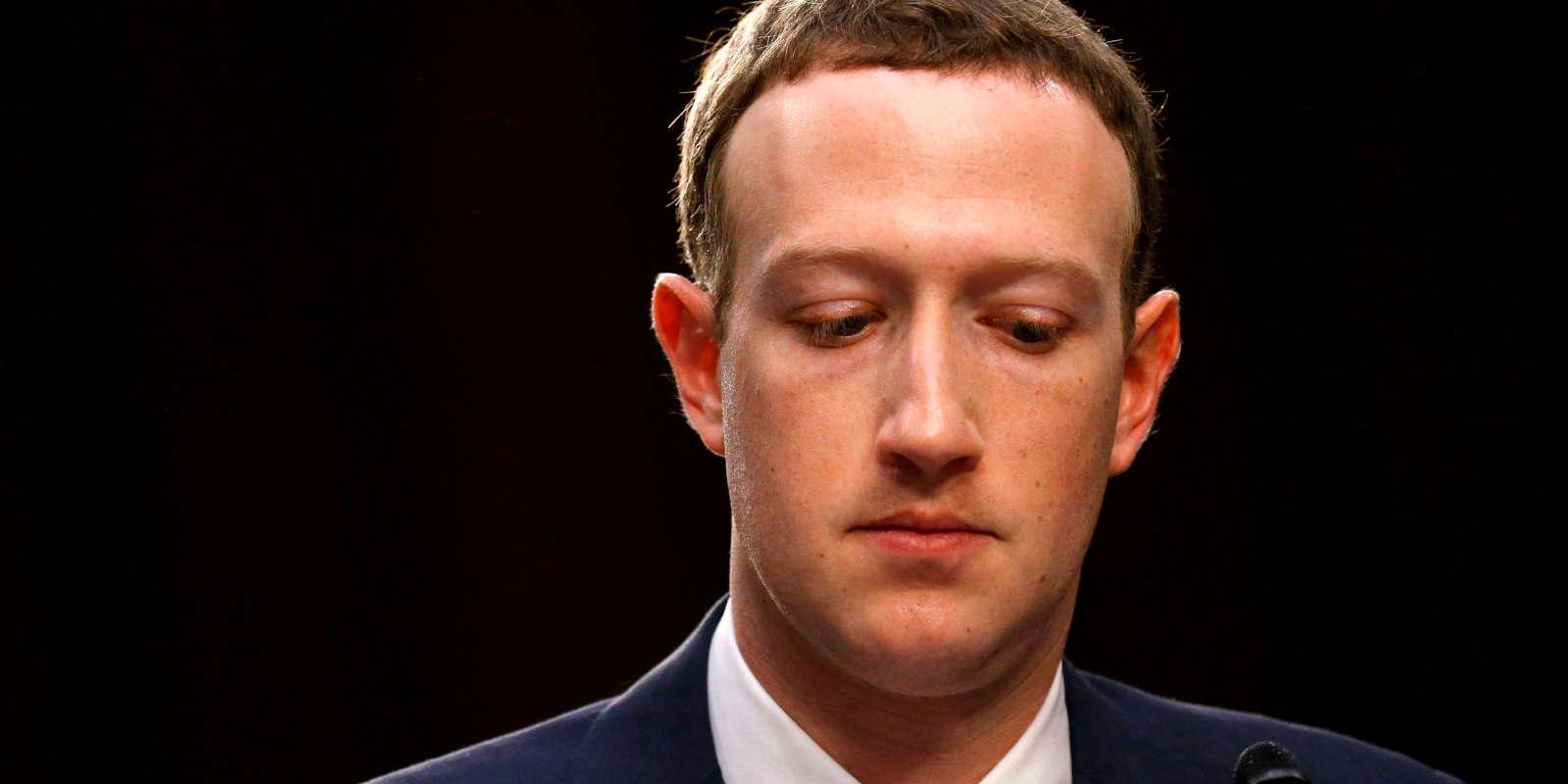 Mark Zuckerberg a déjà été questionné, en avril, par le Congrès américain.