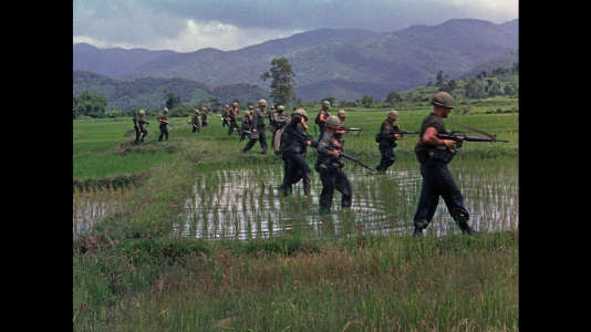 L'armée américaine au Vietnam.