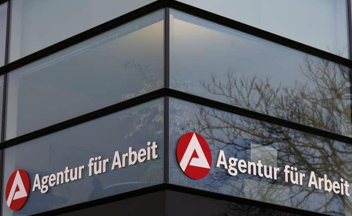 L'agence franco-allemande pour l'emploi de Kehl (Bade-Wurtemberg), près de la frontière entre les deux pays, en novembre 2014.