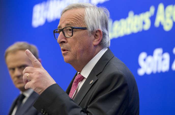 Le président de la Commission européenne Jean-Claude Juncker, le 17 mai à Sofia.