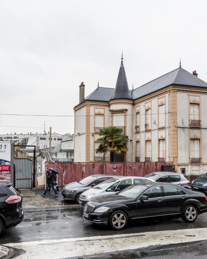 Avenue de la Division Leclerc, au Bourget, le 14 mai 2018.