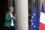 La ministre de la culture Françoise Nyssen, à l'Elysée, le 9 mai.