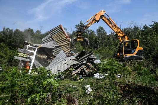 La Chateigne, détruite jeudi 17, était une référence forte, même si le lieu ne servait plus guère.
