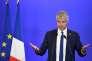 Le président du parti Les Républicains, Laurent Wauquiez, à Paris, le 18 avril.